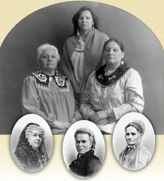 Iroquois Women, photo by Toba Tucker
